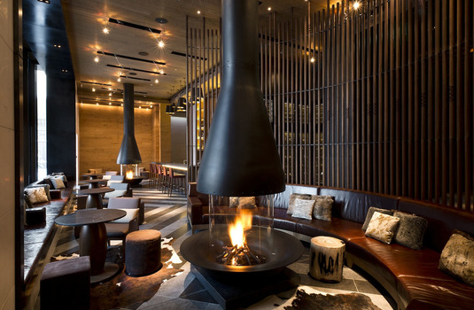 Chedi living room
