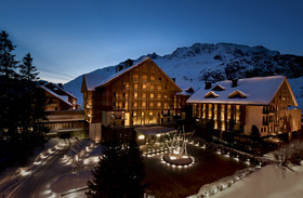 Chalet Chedi in Andermatt Switzerland exterior