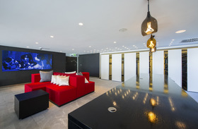 lounge of the W