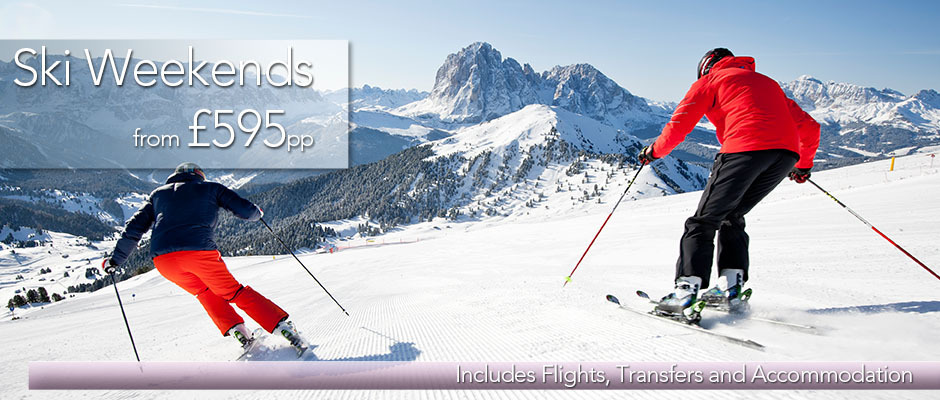 ski weekends homepage banner