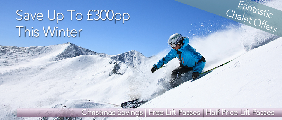 Ski Solutions Homepage banner - Chalet Offers