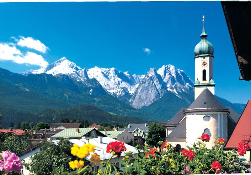 Garmisch Aand The Romantic Castles