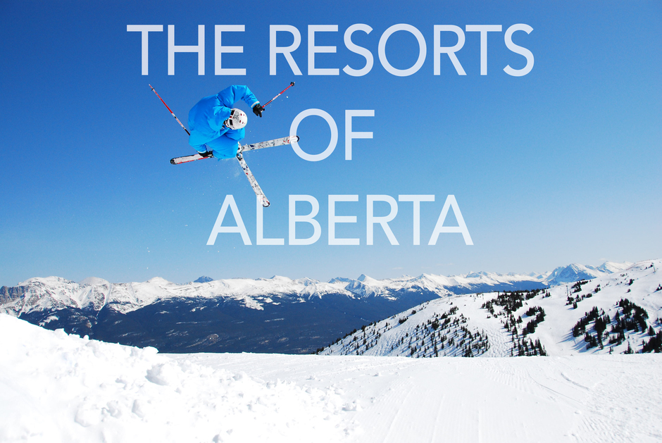 The resorts of Alberta