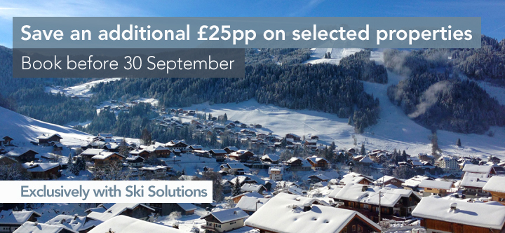 An exclusive Ski Solutions discount