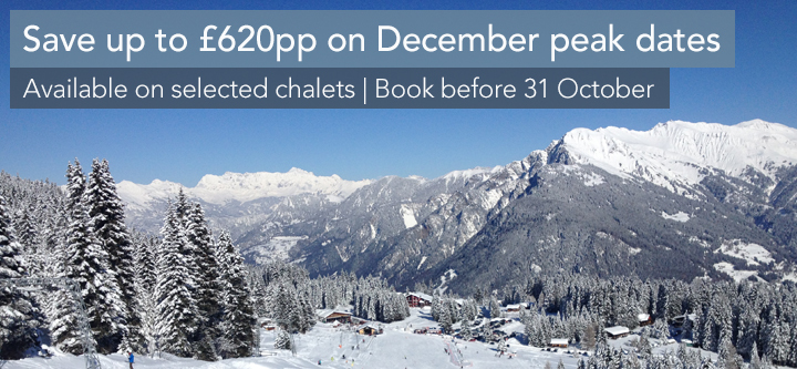 Save up to £620pp at Christmas and New Year