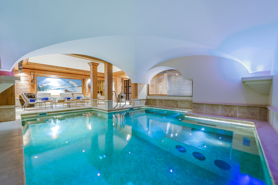 Chalet Montana swimming pool in Val d'Isère