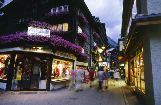 Zermatt Village Main Street