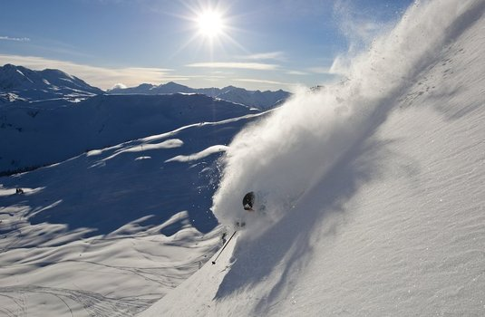 Whistler Powder Skier (Photo © Paul Morrison)