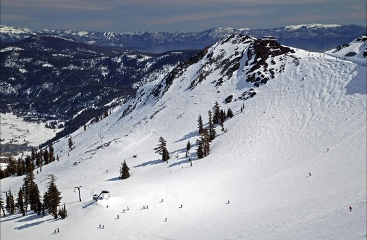 Squaw Valley Piste