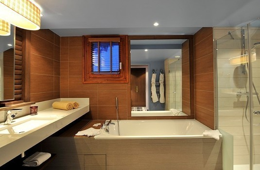 Luxury Bathroom at Club Med Val D'Isere