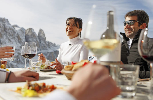 SKI RESORTS FOR FOODIES