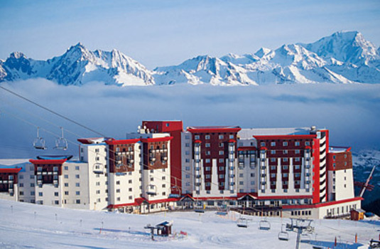 Club Med La Plagne 2100, France